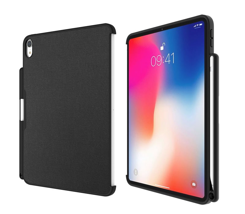 Fold.it Premium iPad protection case with pencil holder alternative