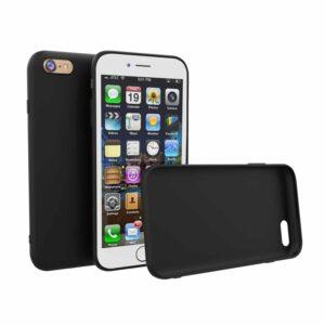 Silikon Handy Hülle schwarz matt erhältlich für iPhone oder Galaxy