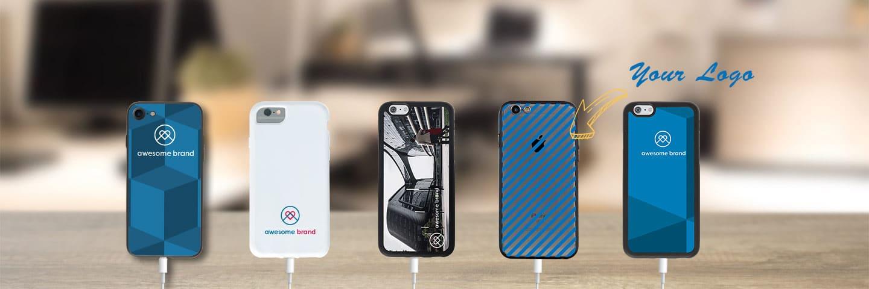 Brand.it Smartphone Cases mit Logo und Grafiken