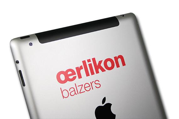 ipad-branding-logo-gravur-oerlikon-balzers