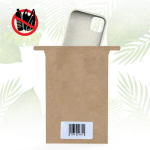 Single Paper Bag for Phone Cases neutral with wh