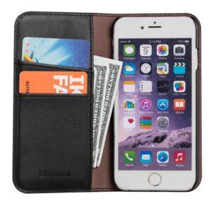 Flamingo Portemonnaie Couverture de portable Apple™ l'emploi quotidien
