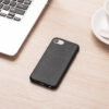 Eco-friendly iPhone protective case on wood desk