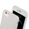 Eco-friendly smartphone case in white, available for all iPhone and Samsung models