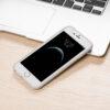 Eco-friendly smartphone case in white